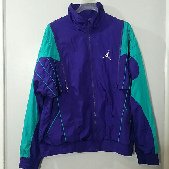 8dbfe8fd5063 Nike Air Jordan Sz XXL Retro 5 Grape Windbreaker